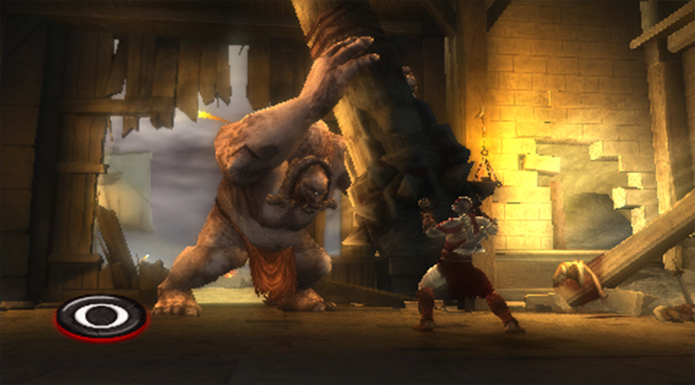 Playstation Portable PSP Screenshot God of War: Chains of Olympus