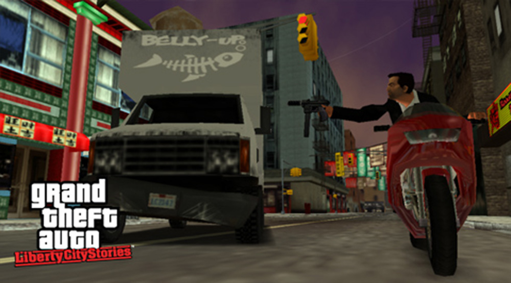 Playstation Portable PSP Screenshot Grand Theft Auto Liberty City Stories