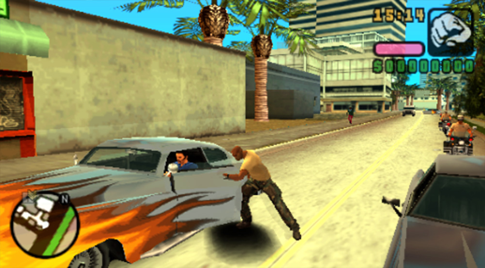 Playstation Portable PSP Screenshot Grand Theft Auto Vice City Stories