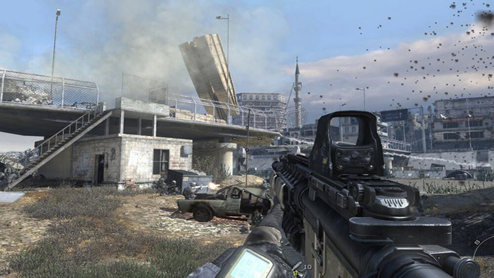Playstation 3 Screenshot Call of Duty: Modern Warfare 2