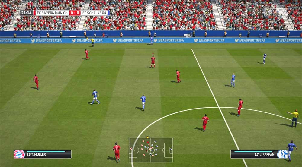Playstation 3 Screenshot FIFA 16